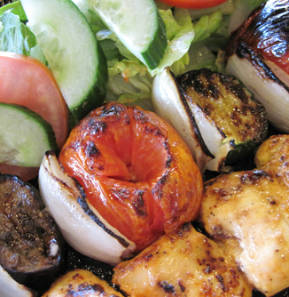 picture of Chicken Kabob Meal